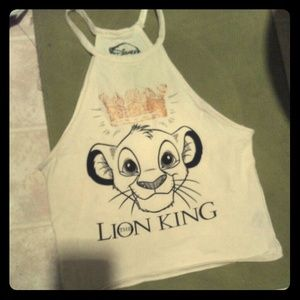*SUPER CUTE* Simba Lion King Halter top!!